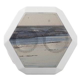 Beach Sunset Ormond Beach White Bluetooth Speaker