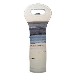 Beach Sunset Ormond Beach Wine Bag