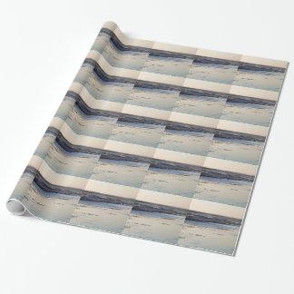 Beach Sunset Ormond Beach Wrapping Paper