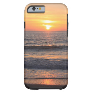 Beach Sunset over the Ocean Tough iPhone 6 Case