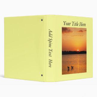 Beach Sunset Photo Album 3 Ring Binders