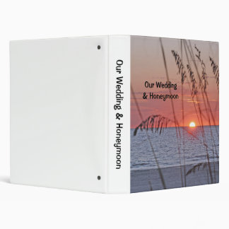 Beach Sunset Photo Binder
