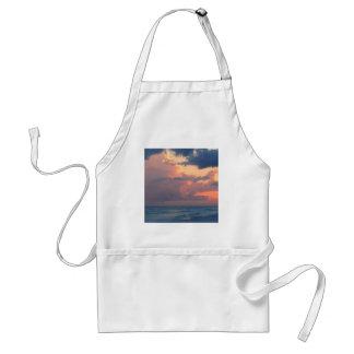 Beach Sunset Sky Destin Standard Apron