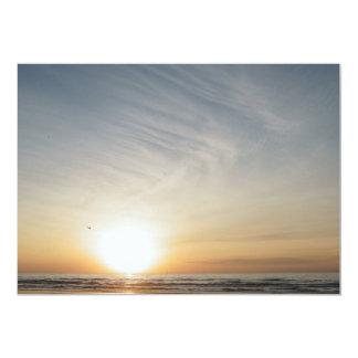 Beach Sunset Sunrise Celebration Add Your Text Card
