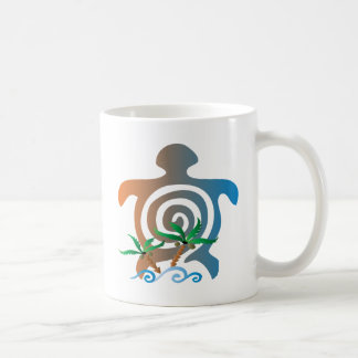 Beach-sunset-turtle Coffee Mug