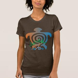 Beach-sunset-turtle T-Shirt