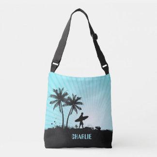 Beach Surfer custom name bags