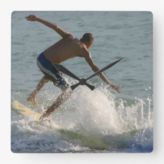 Beach Surfing Wall Decor Clocks