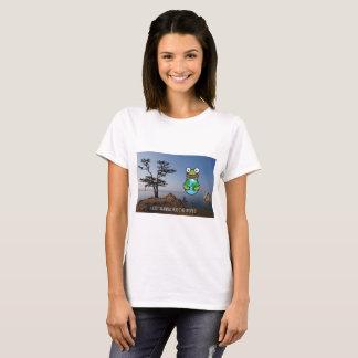 Beach t-shirt Siberia