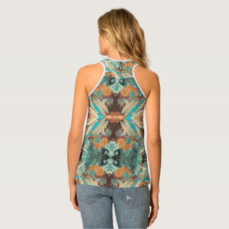 """Beach"" Tank Top by Mar from Thleudron"
