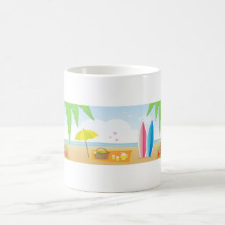 Beach Theme coffee mug