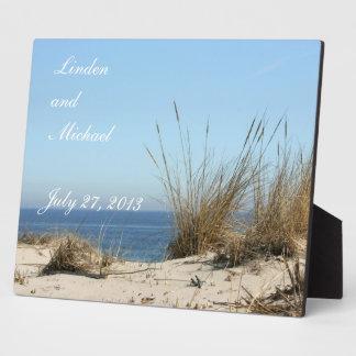 Beach Theme Keepsake Photo Easel Plaque