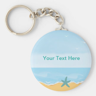Beach Theme Keychain