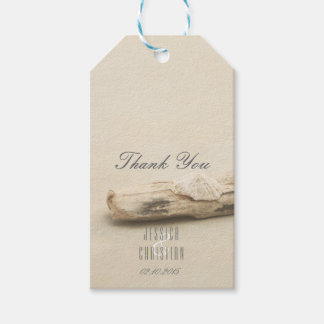 Beach Theme Wedding Set Driftwood Gift Tag