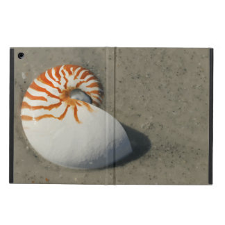 Beach Tiger Nautilus Seashell Design Case For iPad Air