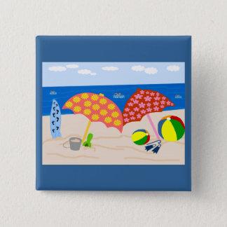 Beach time button