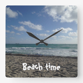 Beach time clock
