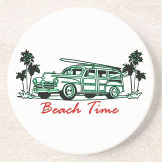 Beach Time Coaster