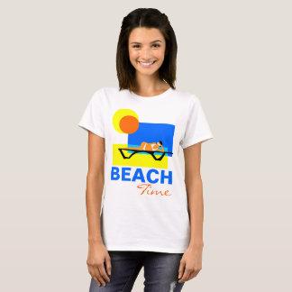 Beach Time funny customizable T-Shirt