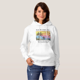 Beach Time Out Hoodie