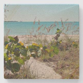 Beach Time Stone Coaster