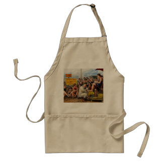 Beach - Toes Tenderly Treated 1922 Standard Apron