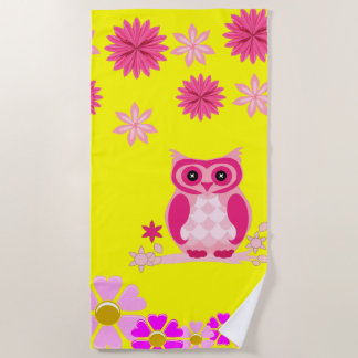 Beach towels Owl