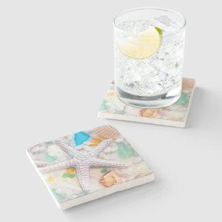 Beach Tropican Theme Drink Coasters