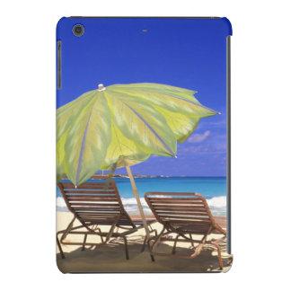 Beach Umbrella, Abaco, Bahamas iPad Mini Covers