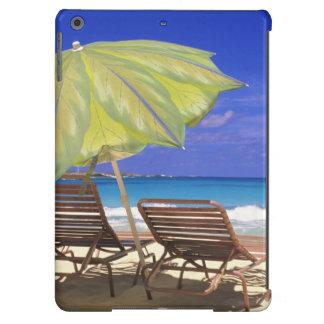 Beach Umbrella, Abaco, Bahamas iPad Air Covers