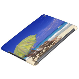 Beach Umbrella, Abaco, Bahamas iPad Air Cases