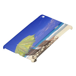 Beach Umbrella, Abaco, Bahamas iPad Mini Cover