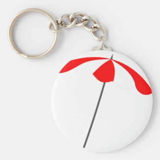 Beach Umbrella Keychain