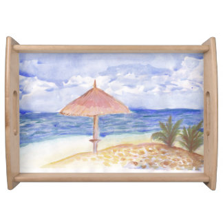 Beach Umbrella Serving Tray