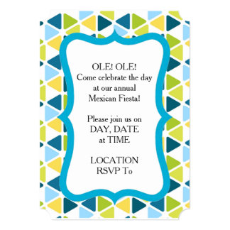 Beach Umbrellas HHM Party Invitation