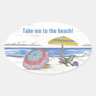 BEACH UMBRELLAS stickers (4)
