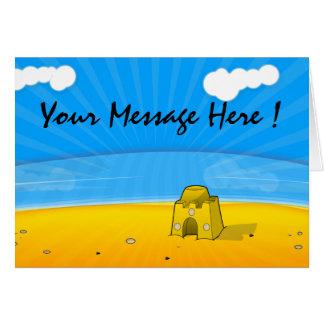 Beach Vacation Card