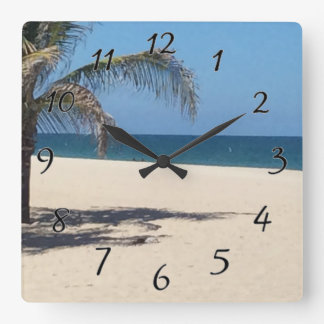 Beach Vacation Clocks