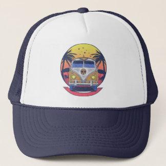 Beach van trucker hat