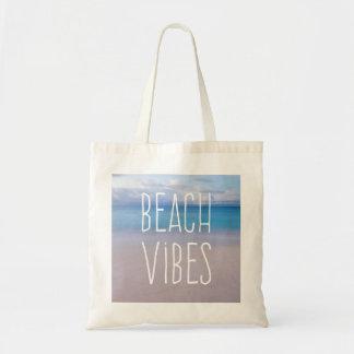 Beach Vibes Beautiful Ocean and Sand Paradise Tote Bag