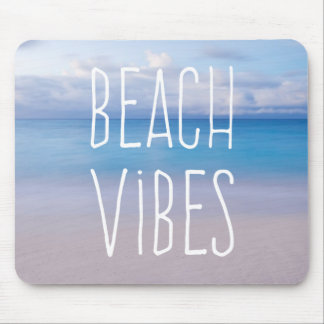 Beach Vibes Beautiful Ocean Island Escape Mousepad