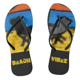 Beach Vibez Flip Flops
