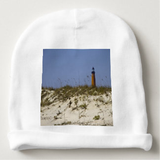 Beach View of Ponce Inlet Lighthouse Baby Beanie