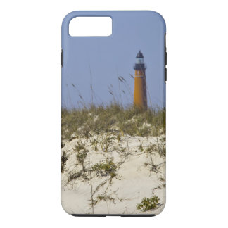 Beach View of Ponce Inlet Lighthouse iPhone 7 Plus Case