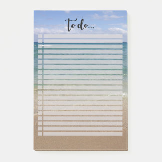 Beach View To Do List Post-it Notes