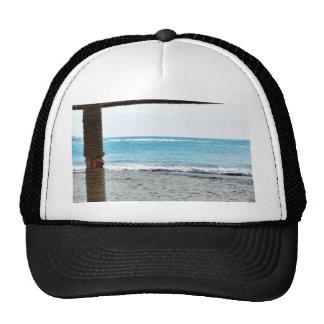 Beach View Under Parasol Trucker Hat
