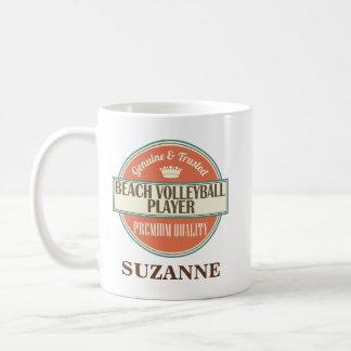 Beach Volleyball Player Personalized Mug Gift