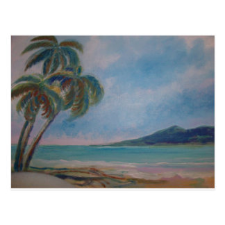 Beach  watercolor by Jan Turner Cards and papers
