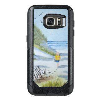 Beach watercolor OtterBox samsung galaxy s7 case