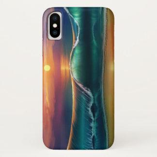 Beach Wave iPhone X Case